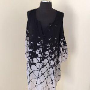 Soft Surroundings large Abella tie dye tunic